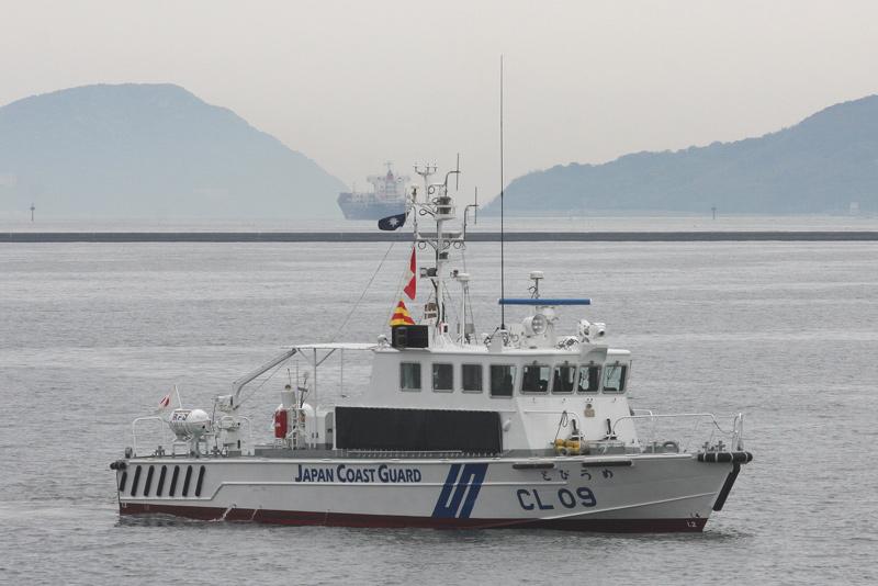 CL-09 とびうめ CL-09 巡視艇とびうめ とびうめ 左舷 とびうめ 右舷 09・巡視艇と