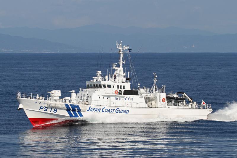 180トン型巡視船・PS「らいざん...