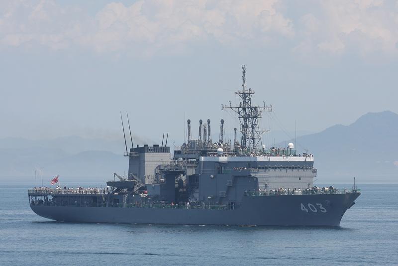 ASR-403・潜水艦救難艦ちはや