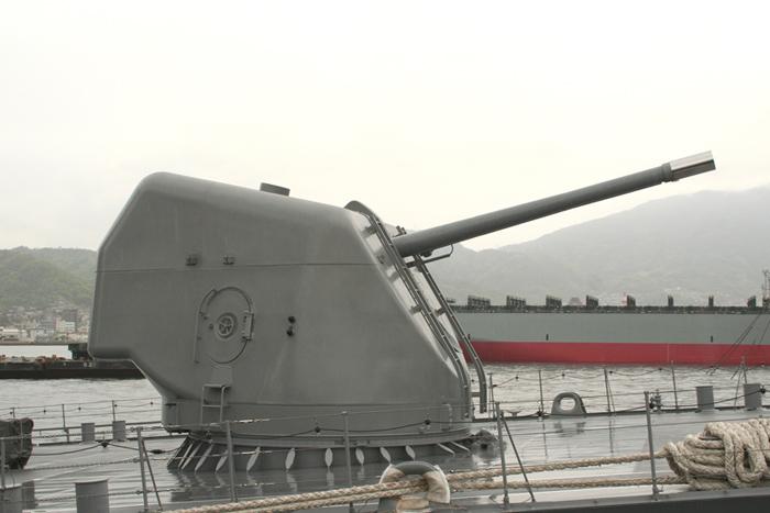 127mm54口径単装砲「5インチ砲」 127mm54口径単装砲「5インチ砲」  174・護衛艦