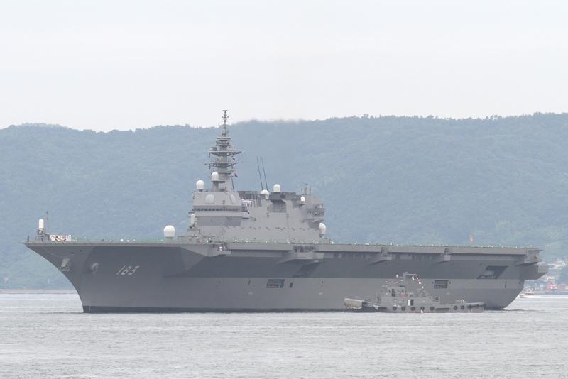 護衛艦「いずも」型・DDH Izumo ...