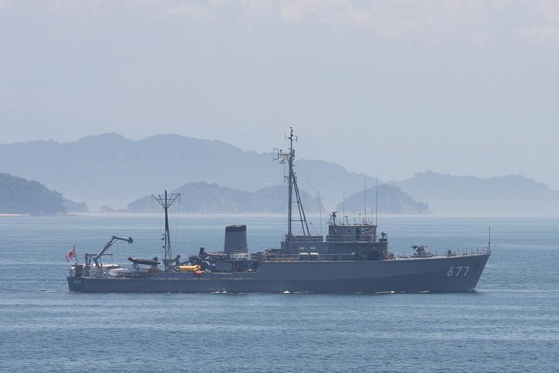 MSC-677・掃海艇まきしま(退役...