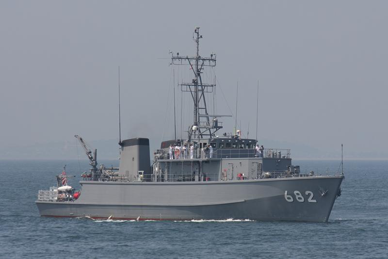 掃海艇「すがしま」型・MSC Suga...