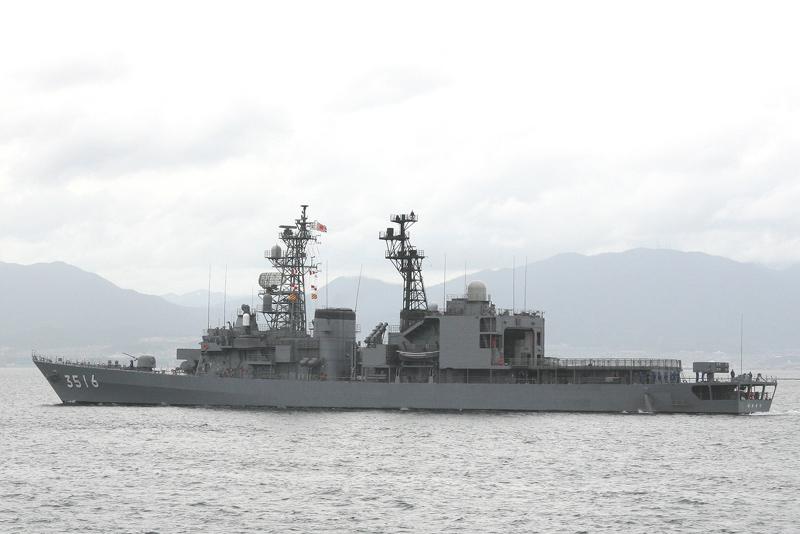 護衛艦「あさぎり」型・DD Asagi...