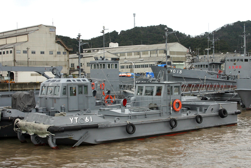 曳船・YT60号35t型(全船退役)