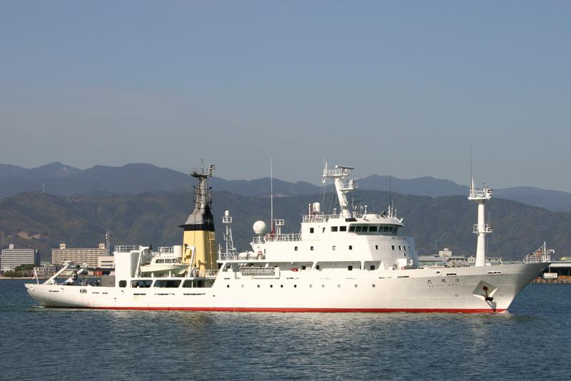 海洋気象観測船・啓風丸 Keifu Maru  海洋気象観測船・啓風丸 海洋気象観測船・啓風丸